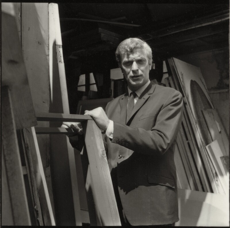 Michael Caine, by Francis Goodman, July 1965 - NPG x87463 - © National Portrait Gallery, London