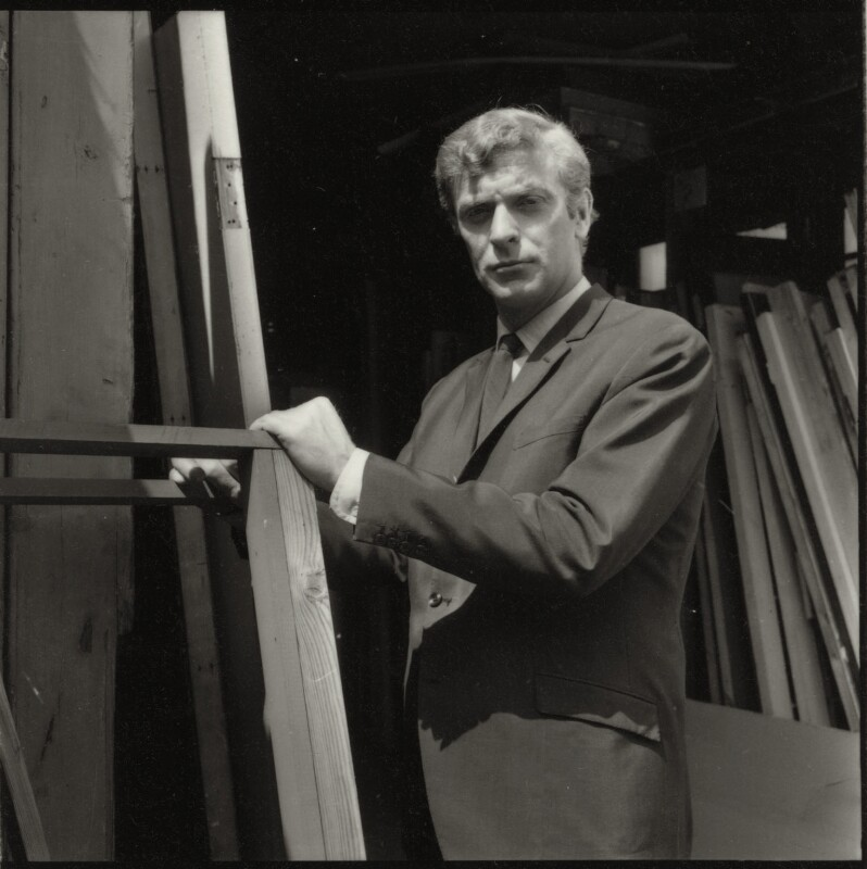 Michael Caine, by Francis Goodman, July 1965 - NPG x87464 - © National Portrait Gallery, London