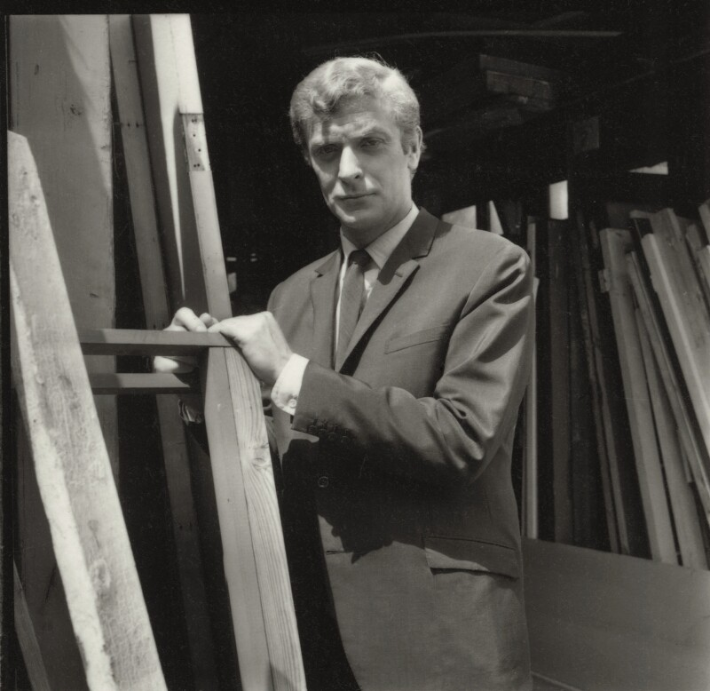 Michael Caine, by Francis Goodman, July 1965 - NPG x87468 - © National Portrait Gallery, London