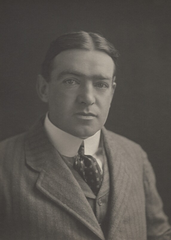 Sir Ernest Henry Shackleton, by (Mary) Olive Edis (Mrs Galsworthy), and  Katharine Legat (née Edis), August 1910 - NPG x87576 - © National Portrait Gallery, London