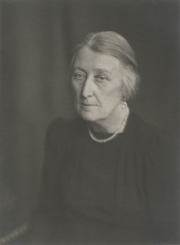 Marjory Stephenson, by Walter Stoneman, bromide print, April 1945, Photographs Collection, NPG x87820