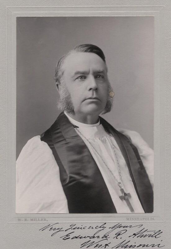 Edward Robert Atwill, by W.R. Miller, circa 1890s-1910s - NPG x8835 - © estate of Alec Miller
