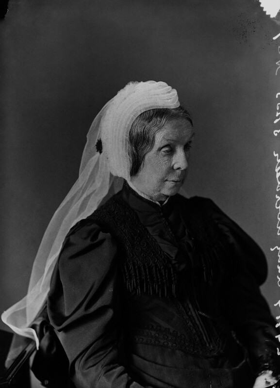 Mary (née Baillie), Countess of Aberdeen, by Alexander Bassano, 1894 - NPG x8849 - © National Portrait Gallery, London