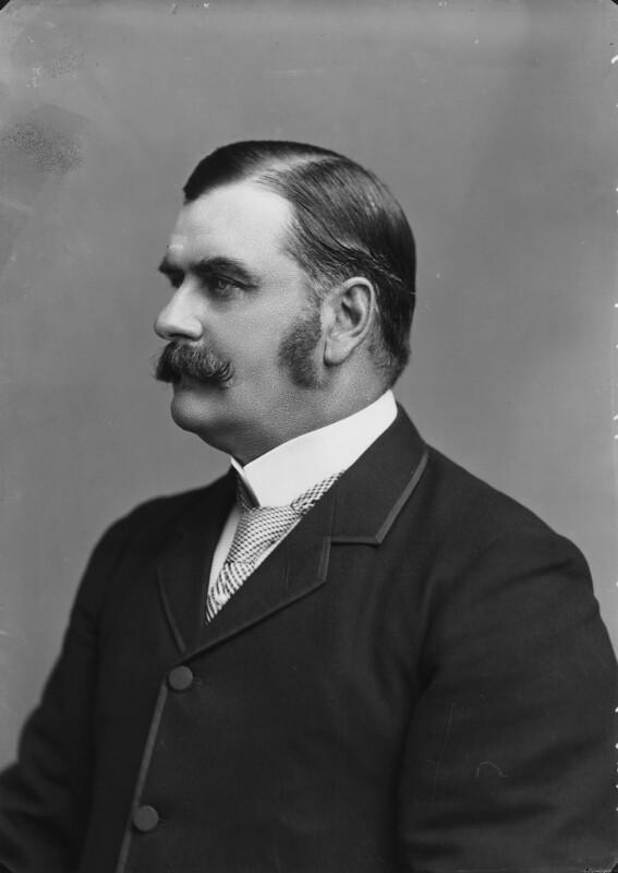 Hon. George Higginson Allsopp, by Alexander Bassano, 1894 - NPG x8873 - © National Portrait Gallery, London