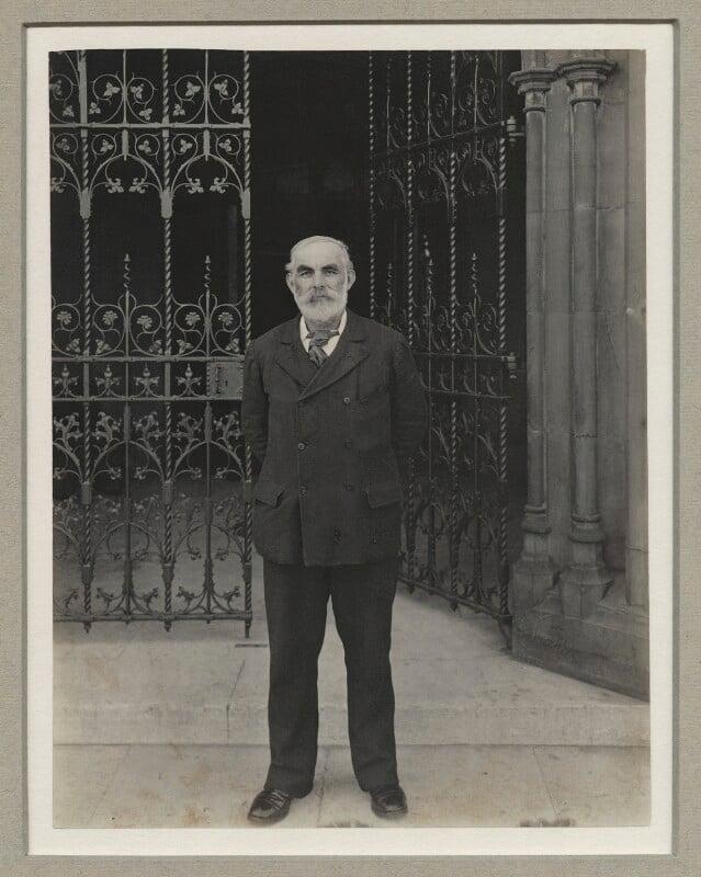 John Elliott Burns, by Benjamin Stone, 1901 - NPG x8922 - © National Portrait Gallery, London