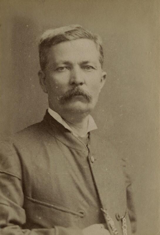 Sir Henry Morton Stanley, by John Thomson, circa 1885 - NPG x9043 - © National Portrait Gallery, London