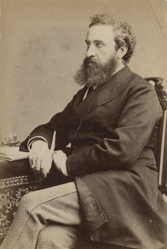 Edward Robert Bulwer-Lytton, 1st Earl of Lytton, by Unknown photographer,  - NPG x9055 - © National Portrait Gallery, London
