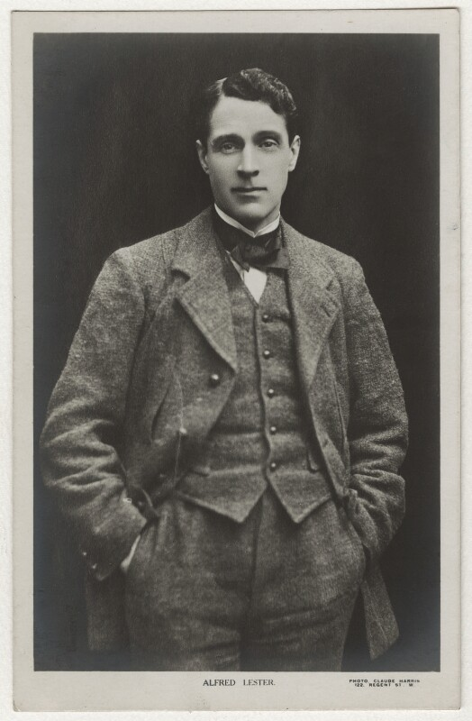 Alfred Lester, by Claude Harris, 1900s - NPG x9099 - © National Portrait Gallery, London