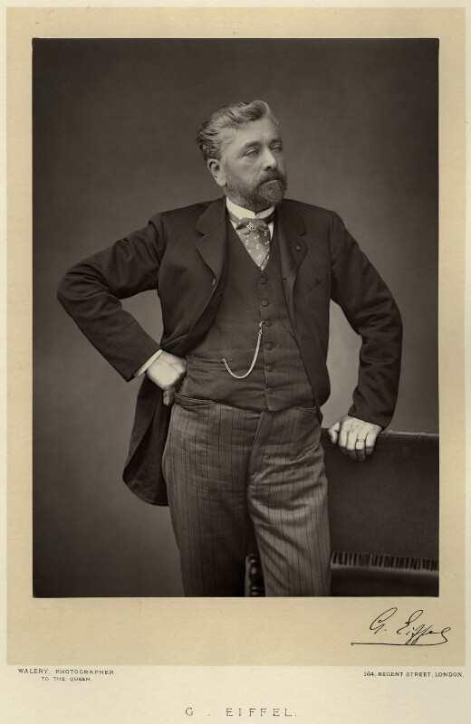 Alexandre Gustave Eiffel, by Walery, published by  Sampson Low & Co, published November 1889 - NPG x9119 - © National Portrait Gallery, London