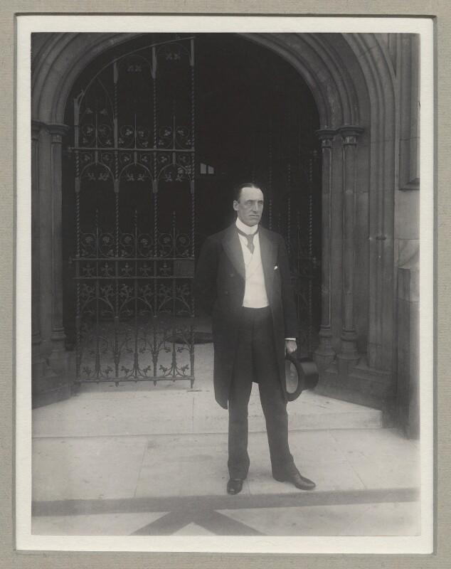 Edward Henry Carson, 1st Baron Carson, by Benjamin Stone, 1898 - NPG x9183 - © National Portrait Gallery, London