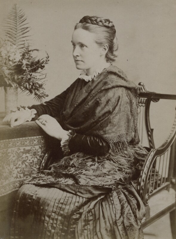 Dame Millicent Fawcett, by Unknown photographer, 1880s - NPG x9199 - © National Portrait Gallery, London