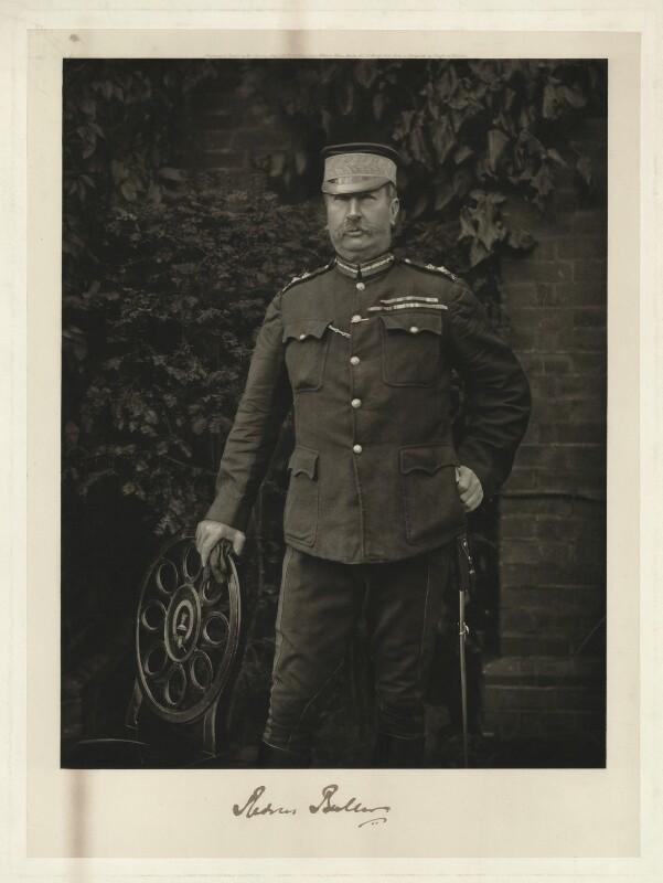 Sir Redvers Henry Buller, by and printed by Printing Arts Co Ltd, after  Charles Knight, printed 1 March 1900 - NPG x9216 - © National Portrait Gallery, London