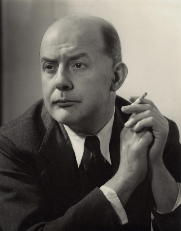 Sir John Betjeman, by Howard Coster, 1953 - NPG x937 - © National Portrait Gallery, London