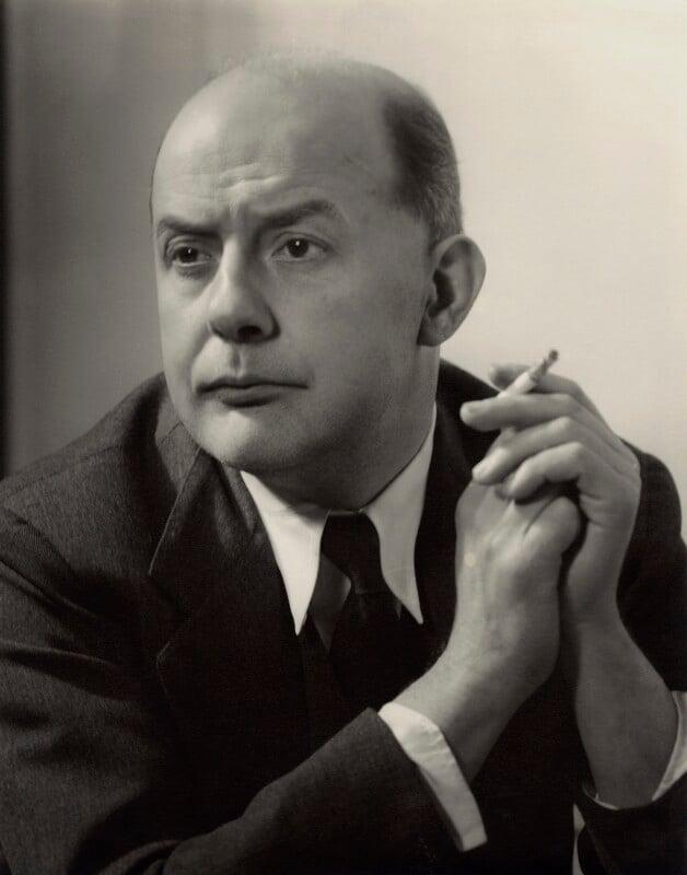 Sir John Betjeman, by Howard Coster, 1953 - NPG x937 - © National Portrait Gallery, London