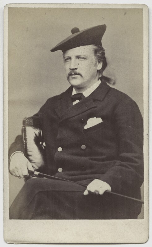 John Campbell, 9th Duke of Argyll, by George Washington Wilson, 1870s - NPG x94 - © National Portrait Gallery, London