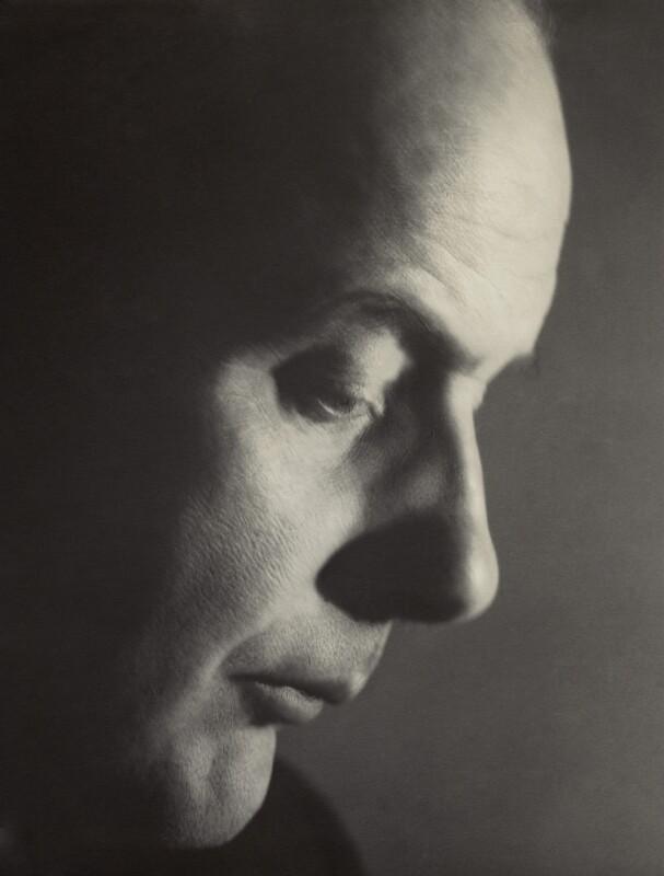 Sir John Betjeman, by Howard Coster, 1953 - NPG x942 - © National Portrait Gallery, London