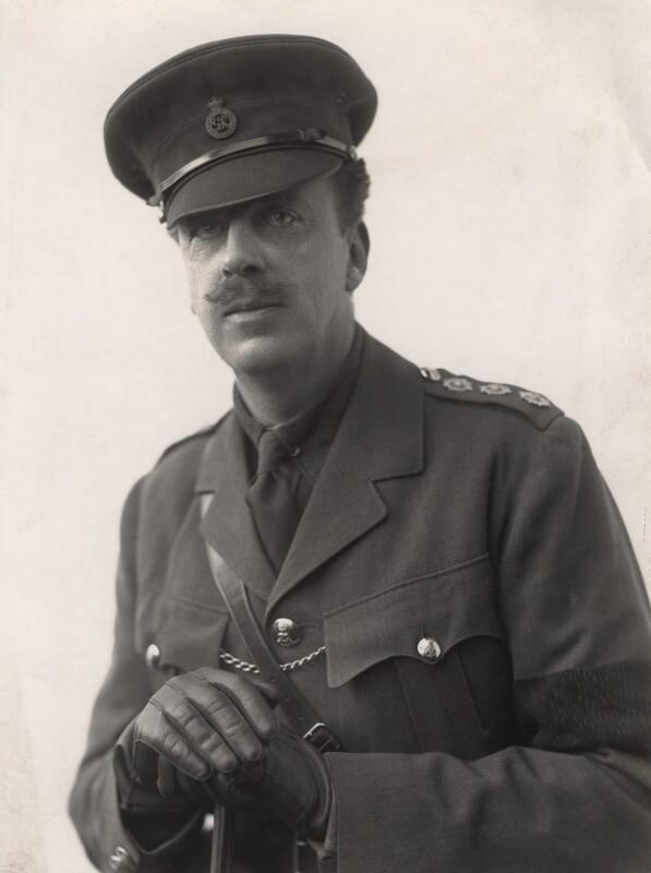 James Albert Edward Hamilton, 3rd Duke of Abercorn, by Henry Walter ('H. Walter') Barnett, 1914-1918 - NPG x45393 - © National Portrait Gallery, London