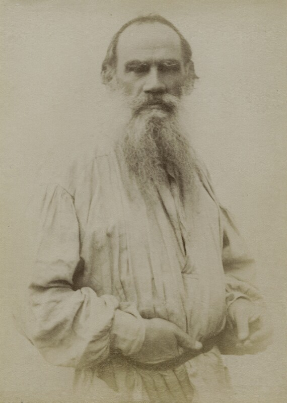 Count Leo Tolstoy, by Unknown photographer, circa 1894 - NPG x9490 - © National Portrait Gallery, London