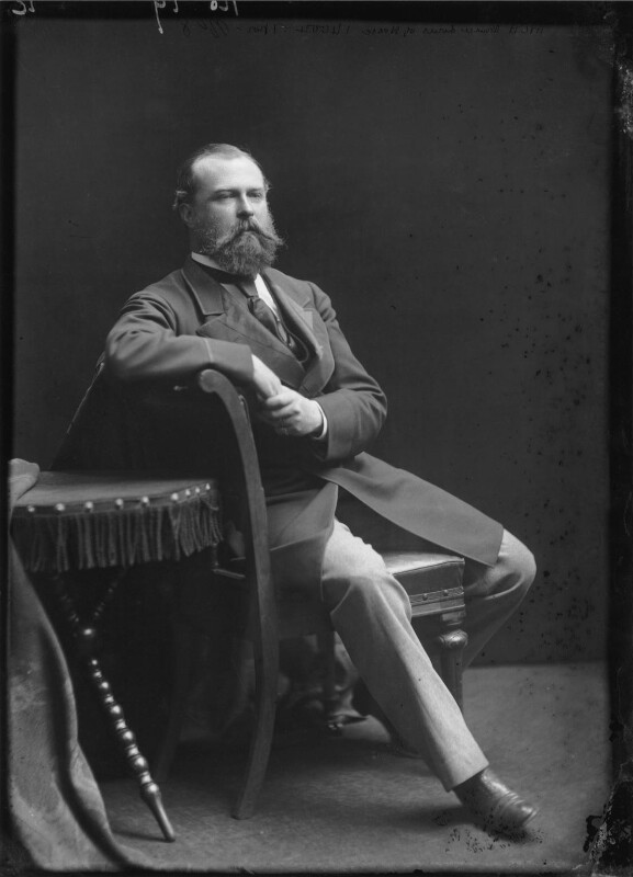 Louis IV, Grand Duke of Hesse and by Rhine, by Alexander Bassano, circa 1878 - NPG x95927 - © National Portrait Gallery, London