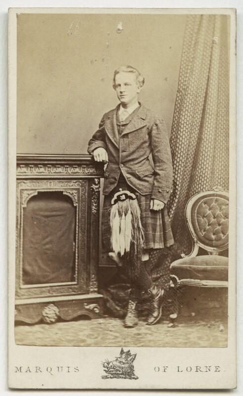 John Campbell, 9th Duke of Argyll, by John Stuart, 1870 - NPG x96 - © National Portrait Gallery, London