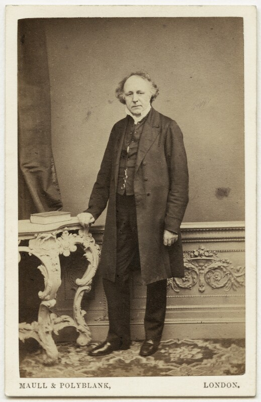Thomas Binney (Benny), by Maull & Polyblank, early-mid 1860s - NPG x960 - © National Portrait Gallery, London