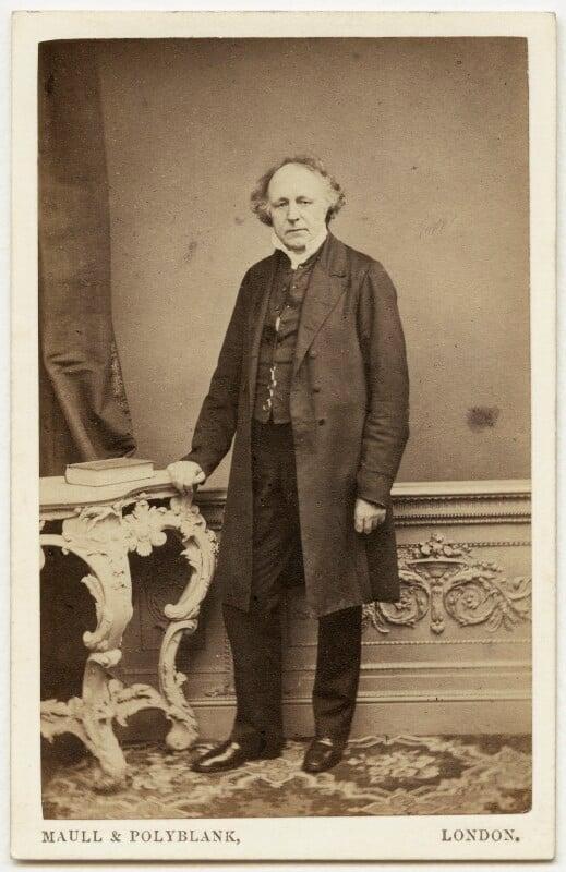Thomas Binney (Benny), by Maull & Polyblank, early-mid 1860s - NPG x960 - © National Portrait Gallery, London