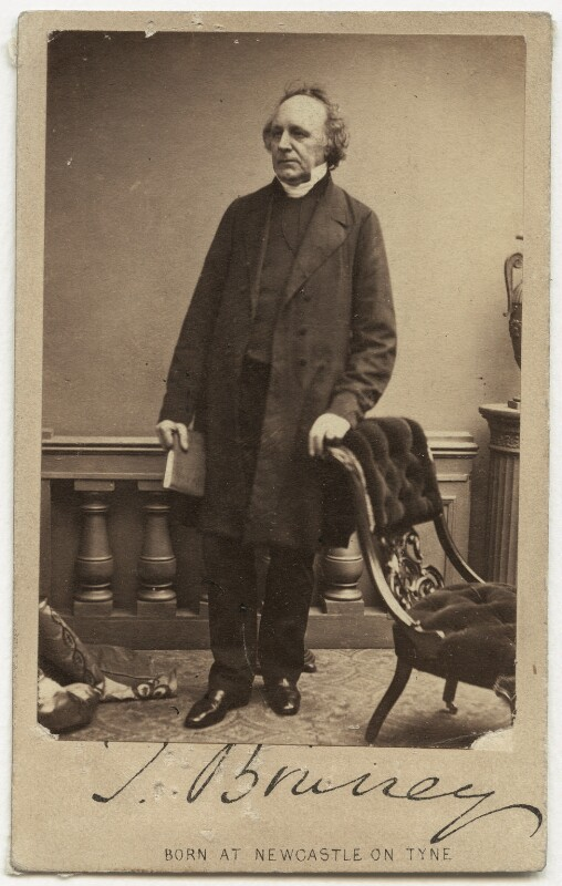 Thomas Binney (Benny), by London Stereoscopic & Photographic Company, 1856-1859 - NPG x962 - © National Portrait Gallery, London