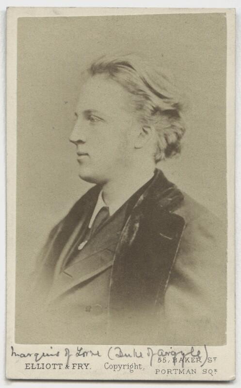 John Campbell, 9th Duke of Argyll, by Elliott & Fry, circa 1870 - NPG x97 - © National Portrait Gallery, London