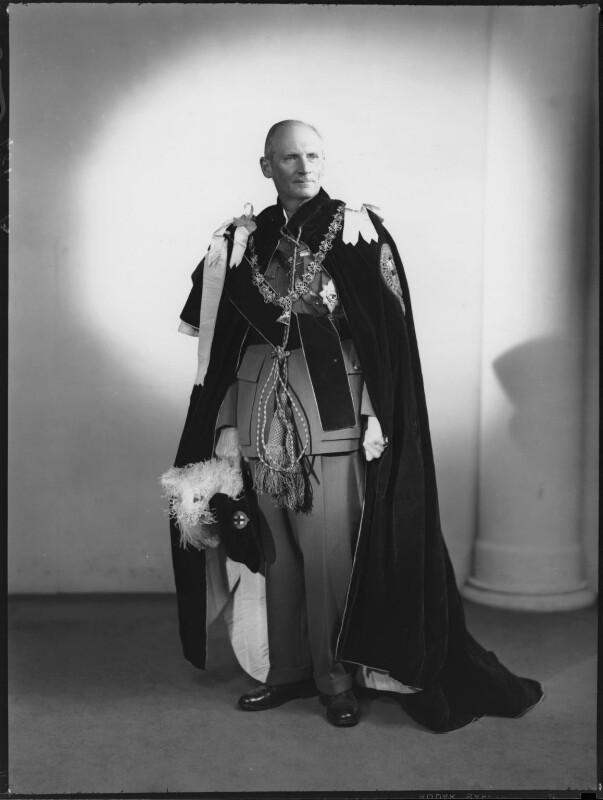 Bernard Law Montgomery, 1st Viscount Montgomery of Alamein, by Navana Vandyk, 22 March 1948 - NPG x97028 - © National Portrait Gallery, London