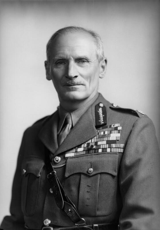 Bernard Law Montgomery, 1st Viscount Montgomery of Alamein, by Navana Vandyk, 22 March 1948 - NPG x97035 - © National Portrait Gallery, London