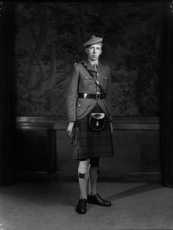 John Andrew Davidson, 2nd Viscount Davidson, by Navana Vandyk, 22 July 1948 - NPG x97107 - © National Portrait Gallery, London