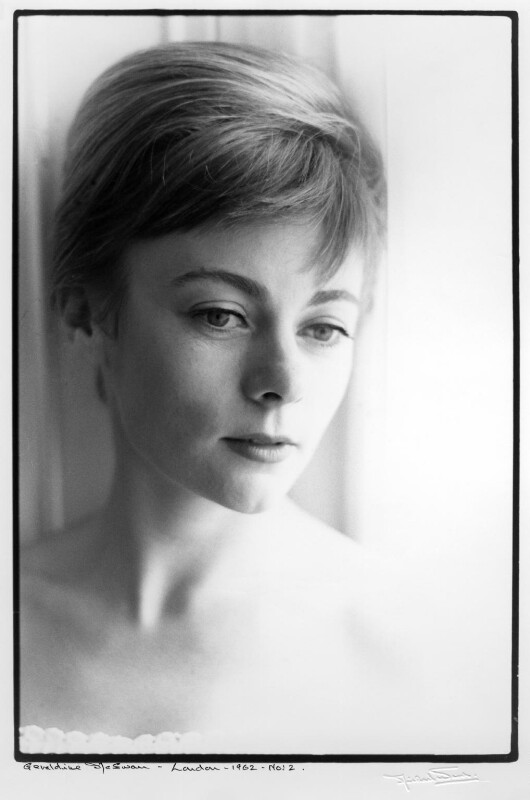 Geraldine McEwan, by Michael Ward, 7 September 1962 - NPG x88648 - © Michael Ward Archives / National Portrait Gallery, London