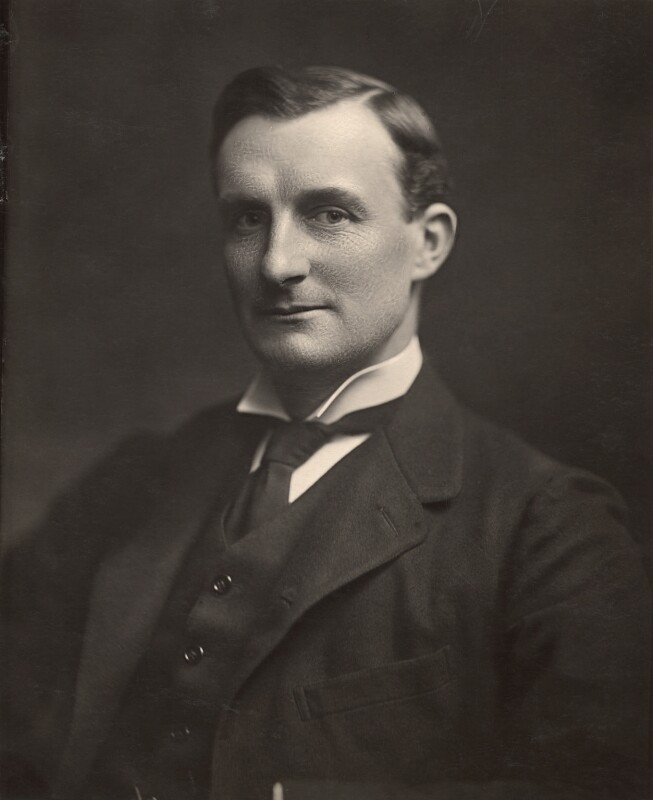 Edward Grey, 1st Viscount Grey of Fallodon, by H. Walter Barnett, 1905 - NPG x45425 - © National Portrait Gallery, London
