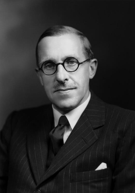Derick Heathcoat Amory, 1st Viscount Amory, by Navana Vandyk, 13 July 1948 - NPG x97707 - © National Portrait Gallery, London