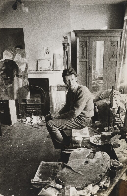 Michael James Andrews, by Lord Snowdon, 7 December 1962 - NPG P797(1) - © Armstrong Jones