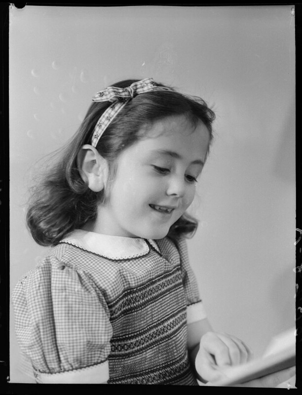Hon. Kirstine Elizabeth de Daranyi (née Forbes-Sempill), by Navana Vandyk, 19 June 1949 - NPG x97988 - © National Portrait Gallery, London