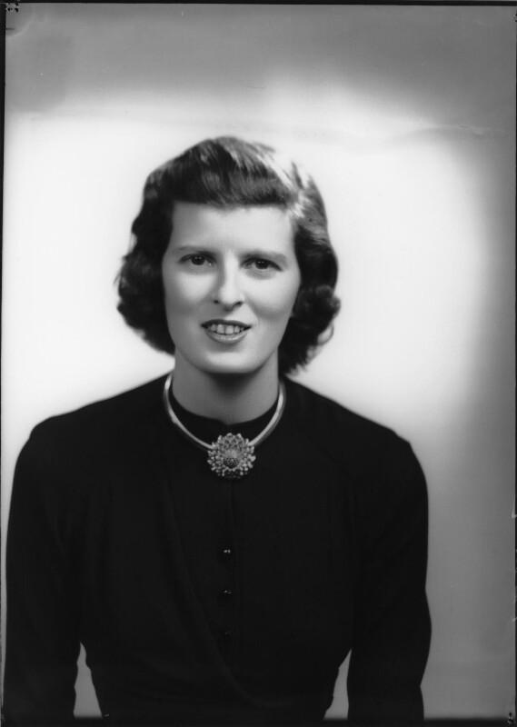Sarah Katharine Elinor Astor (née Norton), Viscountess Astor (later Baring), by Navana Vandyk, 11 January 1950 - NPG x98266 - © National Portrait Gallery, London