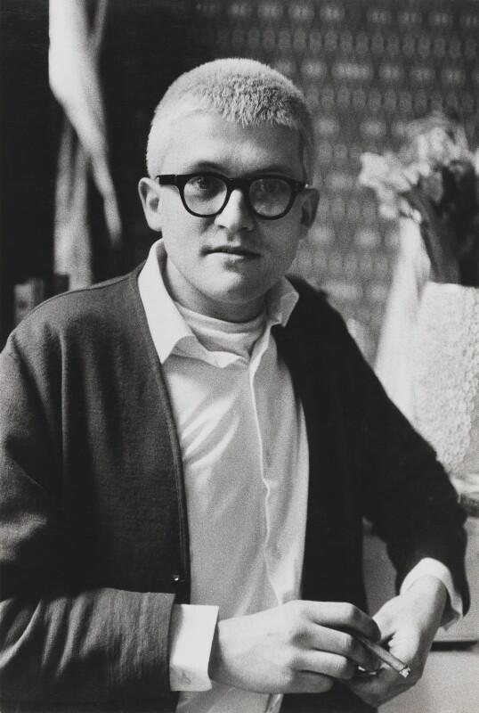 David Hockney, by Lord Snowdon, 16 April 1963 - NPG P797(25) - © Armstrong Jones