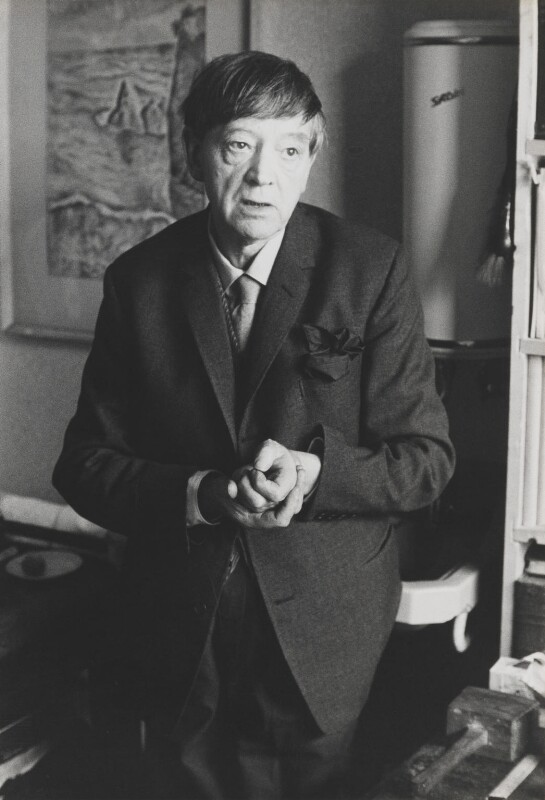 David Jones, by Lord Snowdon, 4 August 1964 - NPG P797(27) - © Armstrong Jones