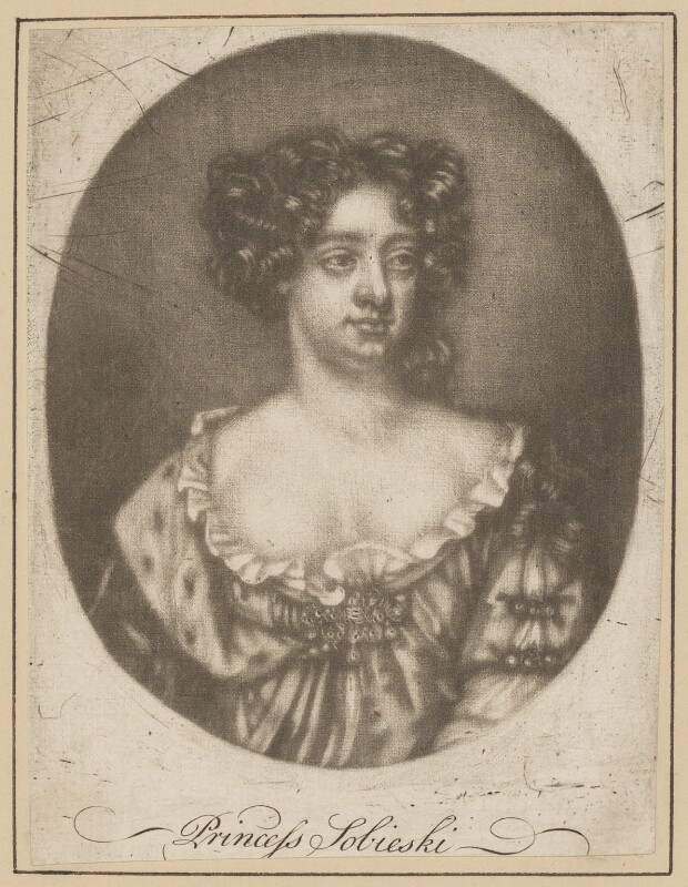 Possibly Mary of Modena, after Unknown artist, late 17th century - NPG D34732 - © National Portrait Gallery, London