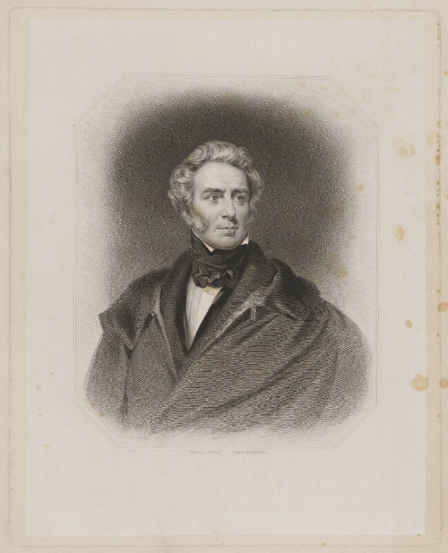 Thomas Philip de Grey, 2nd Earl de Grey, by Joseph Brown, published by  R. Ryley, published by  James Fraser, published by  Sir Francis Graham Moon, 1st Bt, after  John Wood, published 1837 - NPG D34847 - © National Portrait Gallery, London