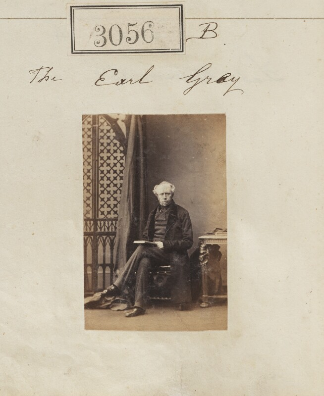 Henry George Grey, 3rd Earl Grey, by Camille Silvy, 13 April 1861 - NPG Ax52457 - © National Portrait Gallery, London