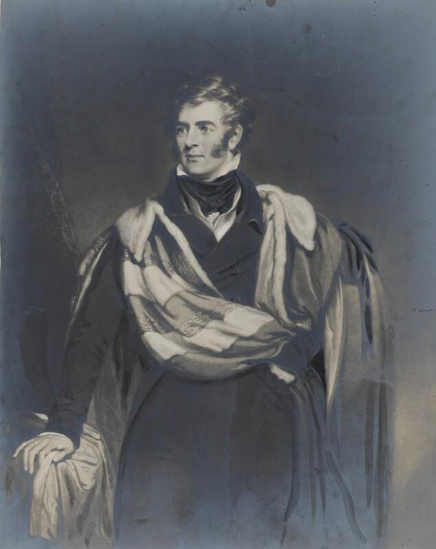 Thomas Philip de Grey, 2nd Earl de Grey, after William Robinson, (1827) - NPG D34853 - © National Portrait Gallery, London