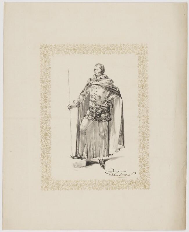 West, 5th Earl De La Warr, by Unknown artist, 1820s-1830s - NPG D34860 - © National Portrait Gallery, London