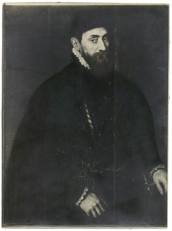 Sir Thomas Gresham, by Unknown artist, (circa 1565) - NPG D34935 - © National Portrait Gallery, London