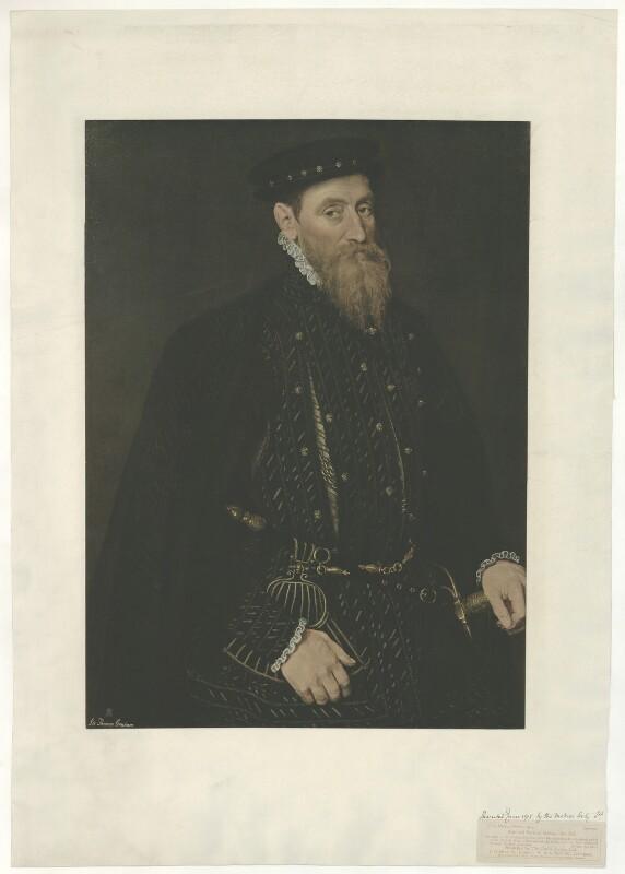 Sir Thomas Gresham, published by The Medici Society Ltd, 1914 (circa 1565) - NPG D34936 - © National Portrait Gallery, London