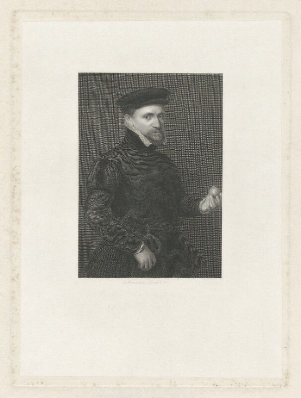 Sir Thomas Gresham, by Richard Woodman, 1839 - NPG D34937 - © National Portrait Gallery, London