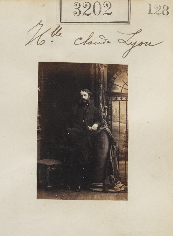 Claud Bowes-Lyon, 13th Earl of Strathmore and Kinghorne, by Camille Silvy, 21 April 1861 - NPG Ax52602 - © National Portrait Gallery, London