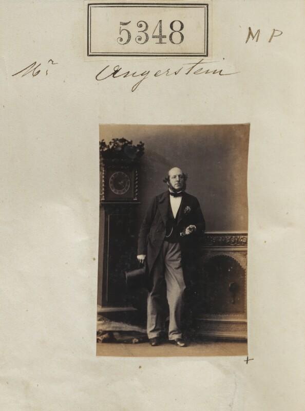 William Angerstein, by Camille Silvy, 1 August 1861 - NPG Ax55308 - © National Portrait Gallery, London