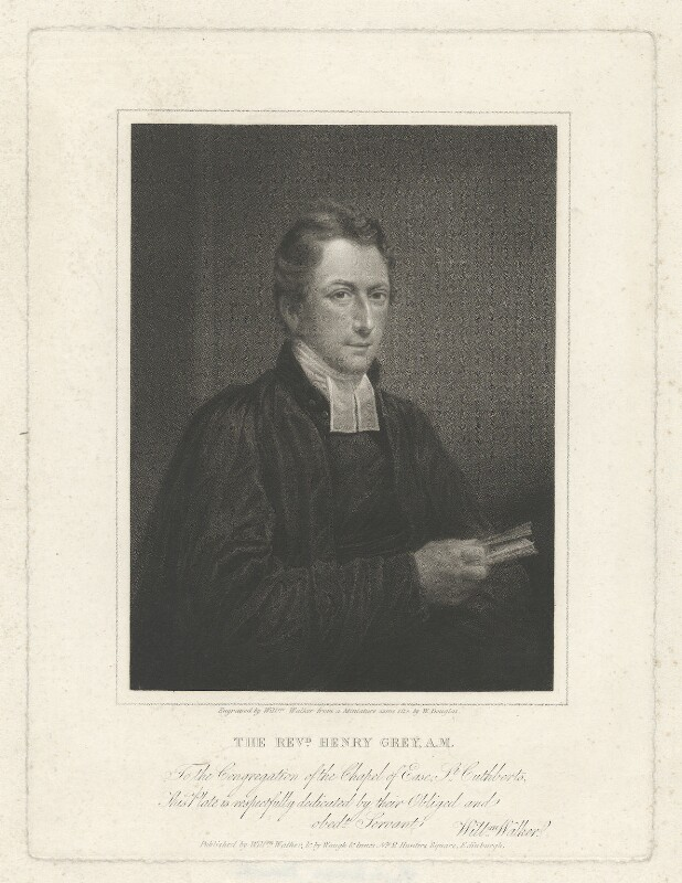 Henry Grey, by and published by William Walker, published by  Waugh & Innes, after  William Douglas, 1808 - NPG D34965 - © National Portrait Gallery, London